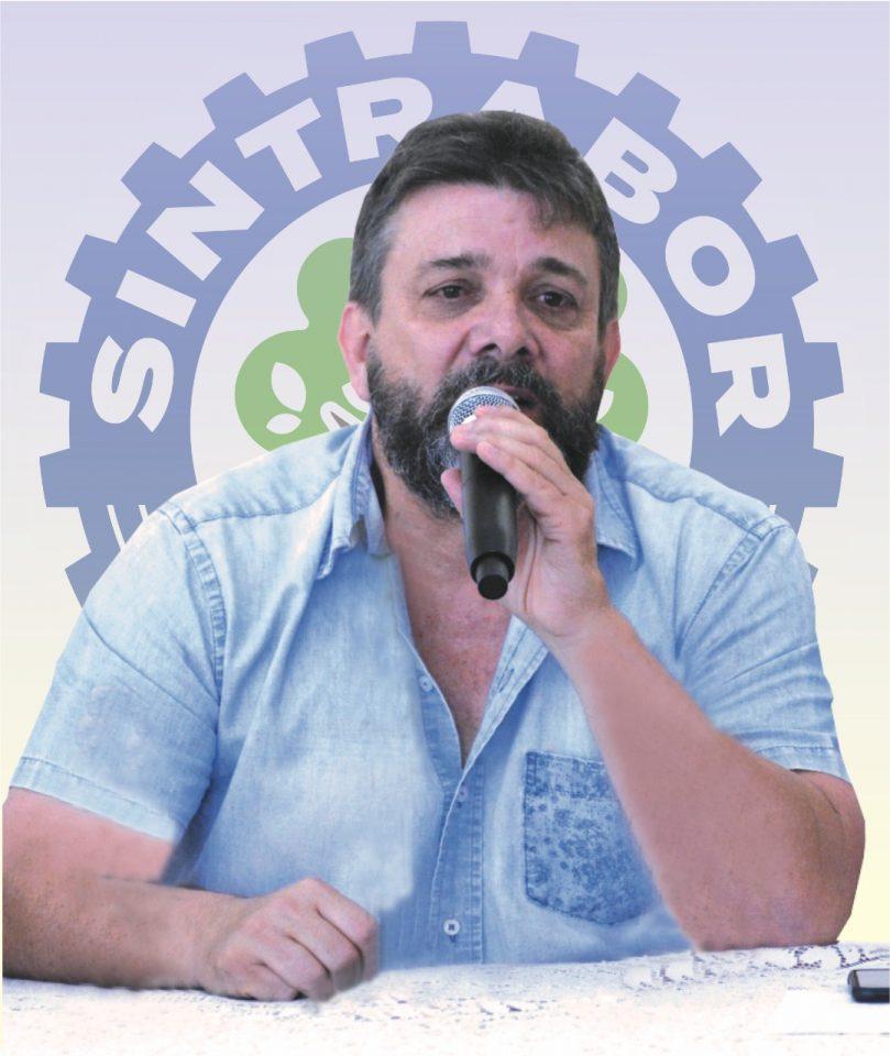 Marcio Ferreira Presidente do Sintrabor